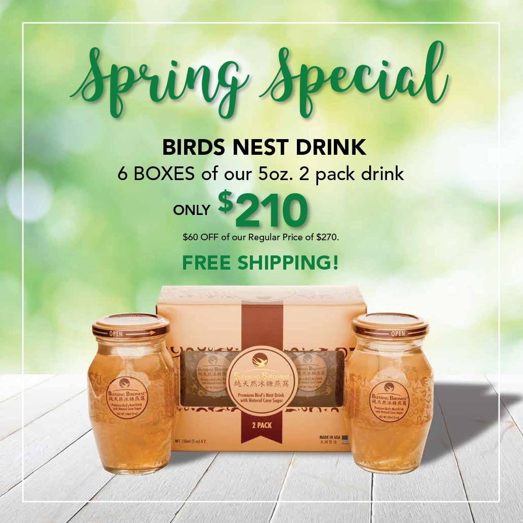 Bird Nest Drink Speical